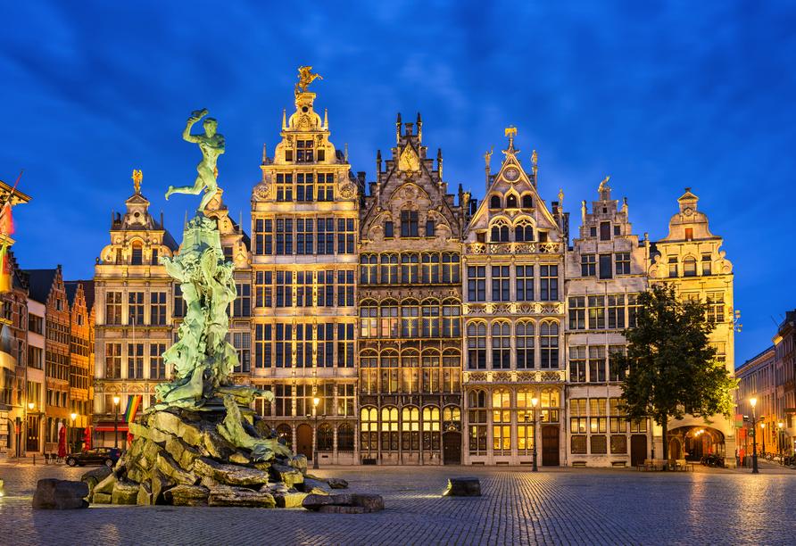 MS Rhein Prinzessin, Antwerpen