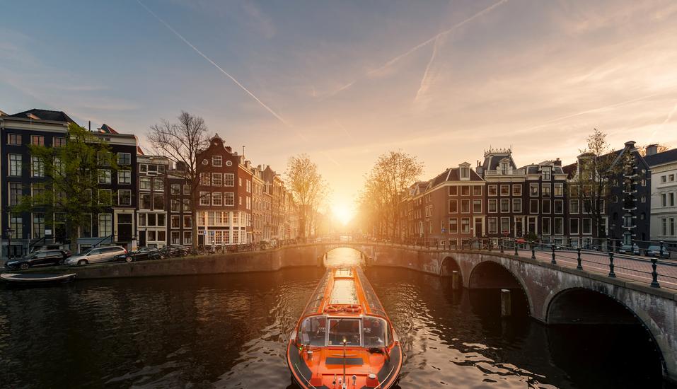 MS Rhein Prinzessin, Amsterdam Grachtenfahrt