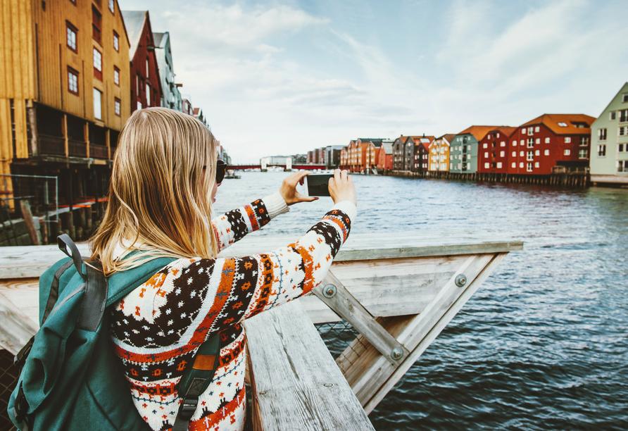MS Nordkapp, Trondheim