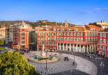 Hotel Lungomare in Marina d'Andora, Place Massena Nizza