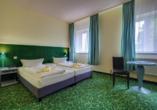 Erzgebirgshotel Freiberger Höhe, Beispiel Doppelzimmer