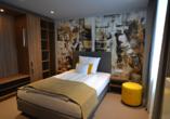 Beispiel eines Einzelzimmers im Boutique Hotel Moselgarten