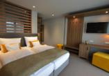 Beispiel eines Doppelzimmers Comfort im Boutique Hotel Moselgarten
