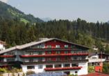 Hotel Bruno in Fügen, Außenansicht