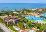 Im Anschluss an Ihre erlebnisreiche Reise können Sie bei einem Badeaufenthalt im Hotel Belek Beach Resort entspannen.