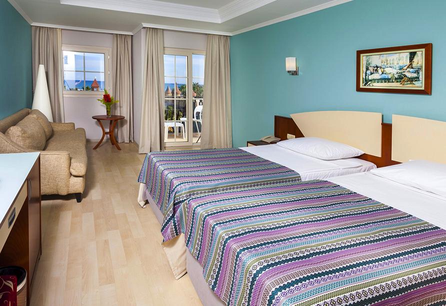 Beispiel eines Doppelzimmers im Hotel Belek Beach Resort