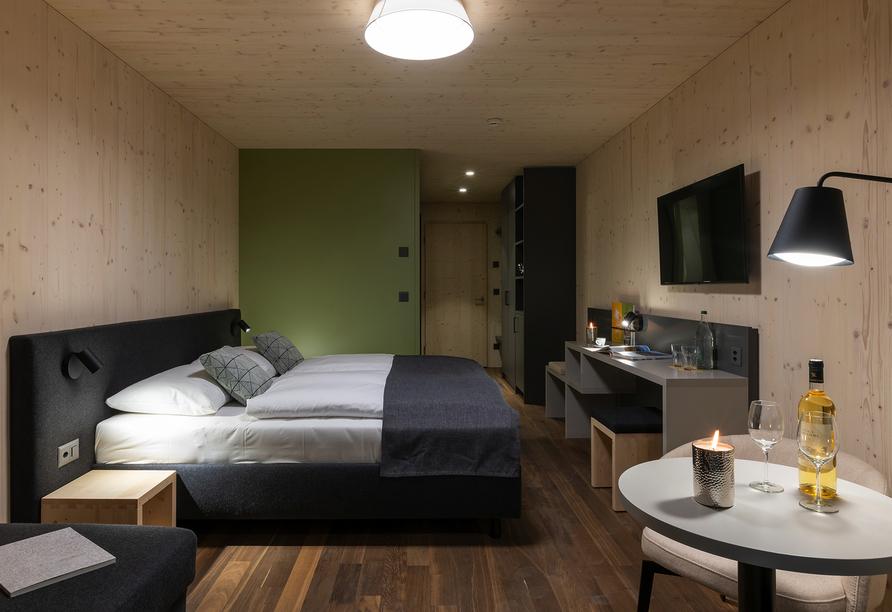 JUFA Hotel Savognin, Modellbild Doppelzimmer