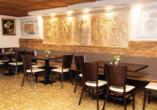 Das Restaurant mit griechischer, mediterraner und deutscher Küche