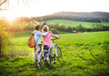 Erholen Sie sich vom Alltag bei einer Fahrradtour.