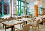 Im Restaurant genießen Sie unter anderem klassisch böhmische Küche.