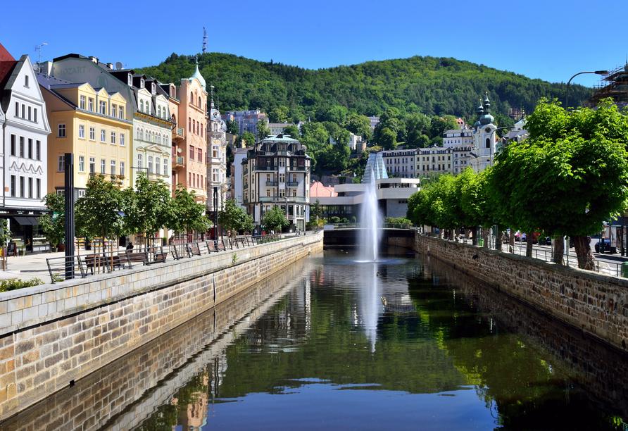 Ein Ausflug nach Karlsbad lohnt sich.