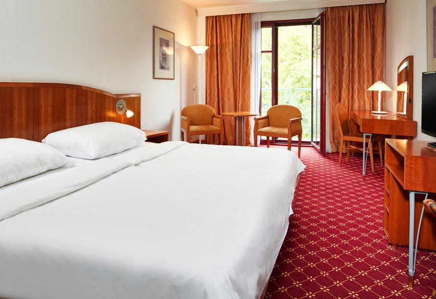 Beispiel eines Doppelzimmers im OREA Spa Hotel Cristal