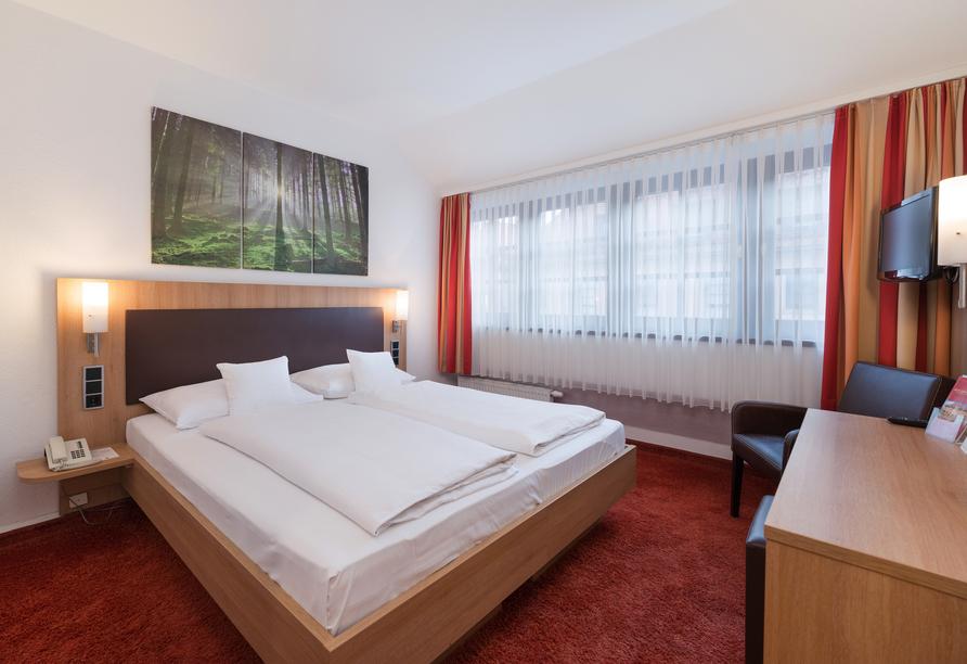 Beispiel eines Doppelzimmers im Landgasthof-Hotel Riesengebirge