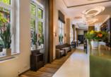 Das Acora Hotel Bochum Living the City empfängt Sie in schönem Ambiente.