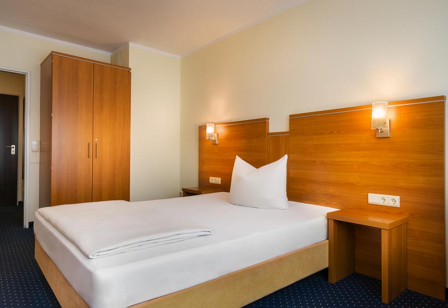 Beispiel eines Einzelzimmers Standard im Acora Hotel Bochum Living the City