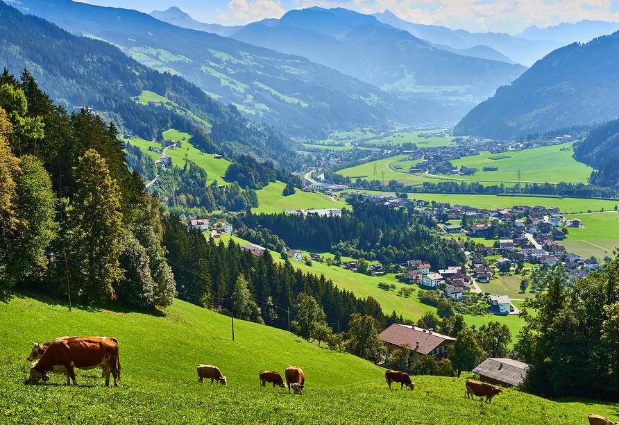 Das Zillertal in Tirol