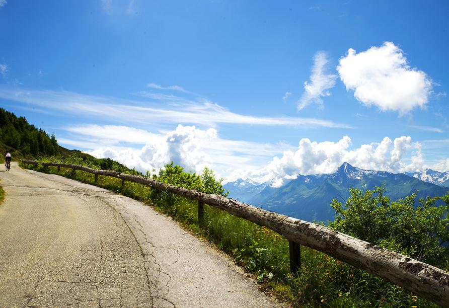 Die Zillertaler Höhenstraße gehört zu den schönsten in ganz Österreich.