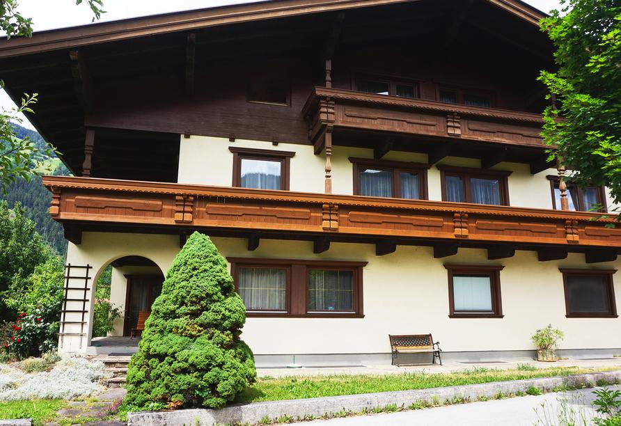 Die Pension Klammerschneider gehört als Nebenhaus zum Hotel Untermetzger.