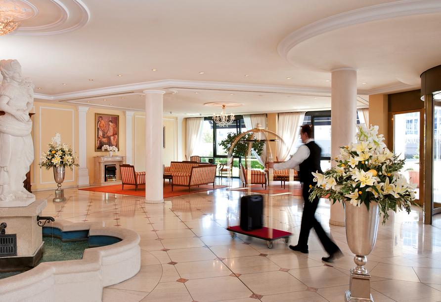 Victor's Residenz Hotel Erfurt, Lobby