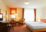 Victor's Residenz Hotel Erfurt, Beispiel Doppelzimmer Standard