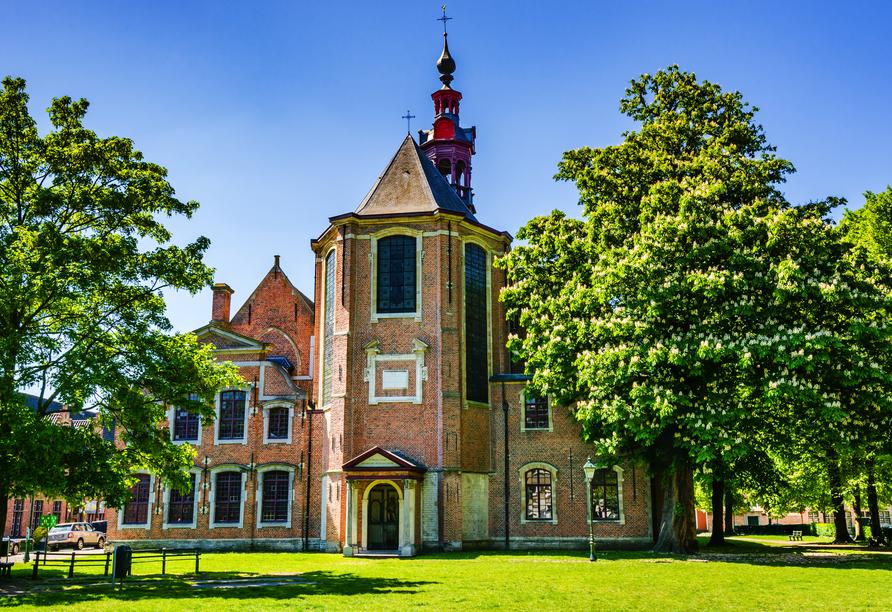 MS Antonia ab/bis Köln, Alter Beginenhof St. Elisabeth in Gent