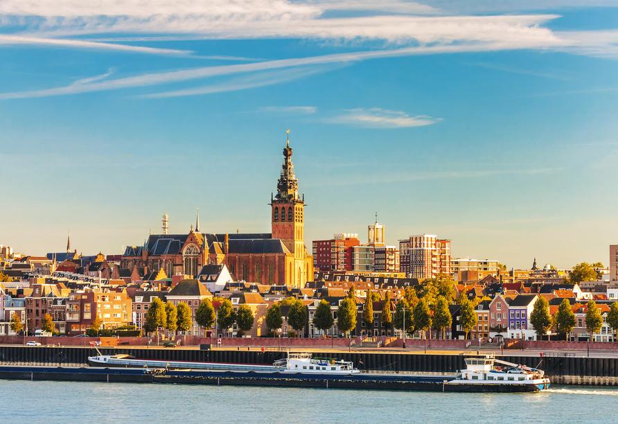 MS Antonia ab/bis Köln, Nijmegen