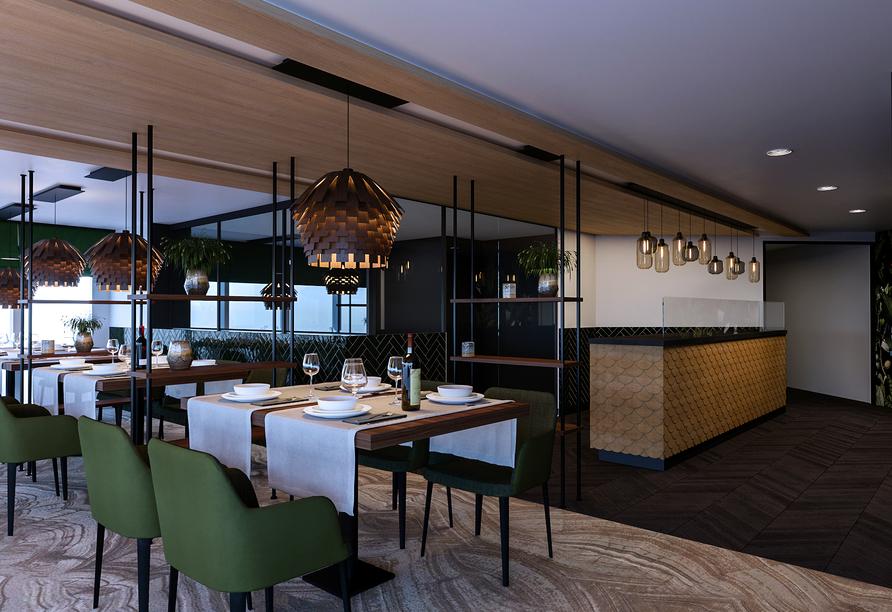 MS Antonia ab/bis Köln, Restaurant