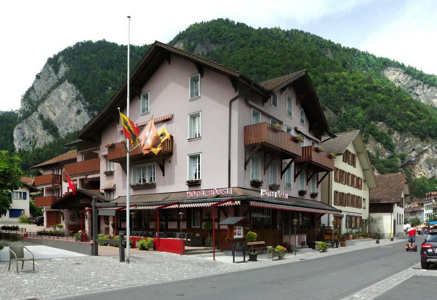 Herzlich willkommen im Hotel Rösli in Interlaken!