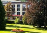 Freuen Sie sich auf einen schönen Urlaub im Nashira Kurpark Hotel.