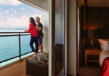 Queen Mary 2, privater Balkon