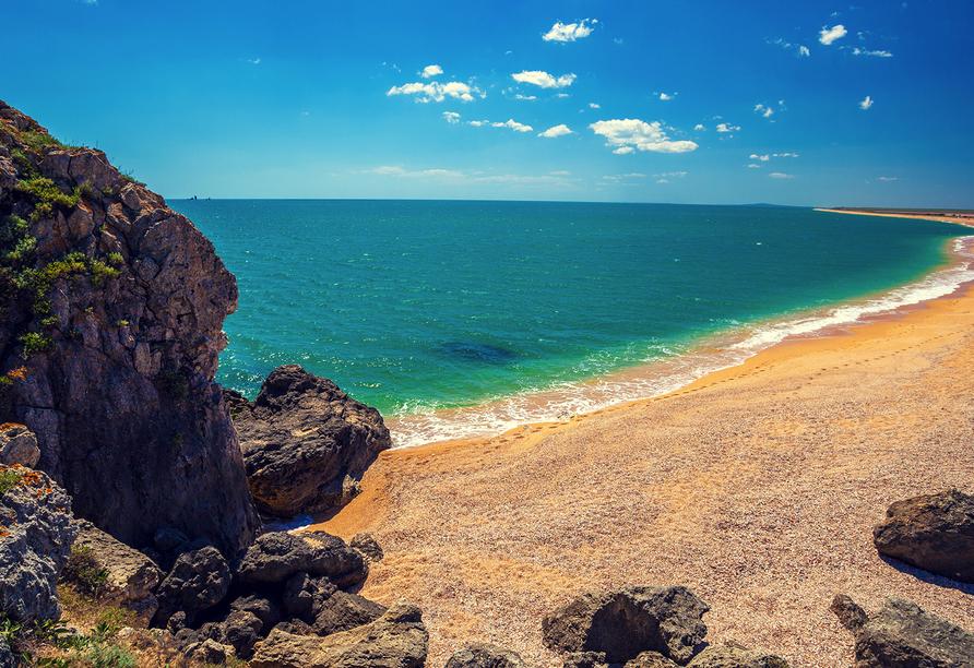 Der Norden Zyperns und seine unberührte Natur, Strand in Zypern