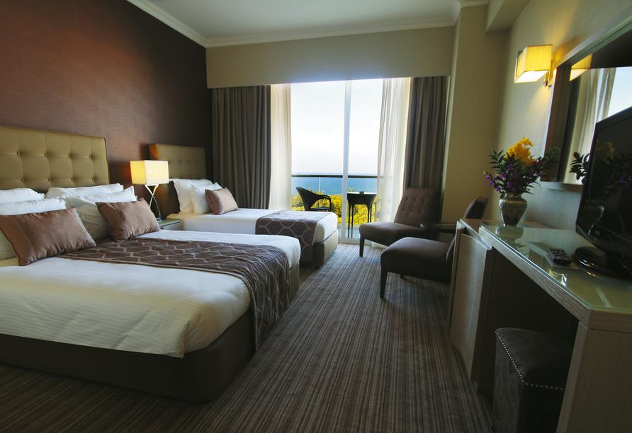 Der Norden Zyperns und seine unberührte Natur, Beispielzimmer im Beispielhotel Acapulco Resort & Spa