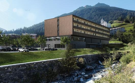 JUFA Hotel Savognin, Außenansicht