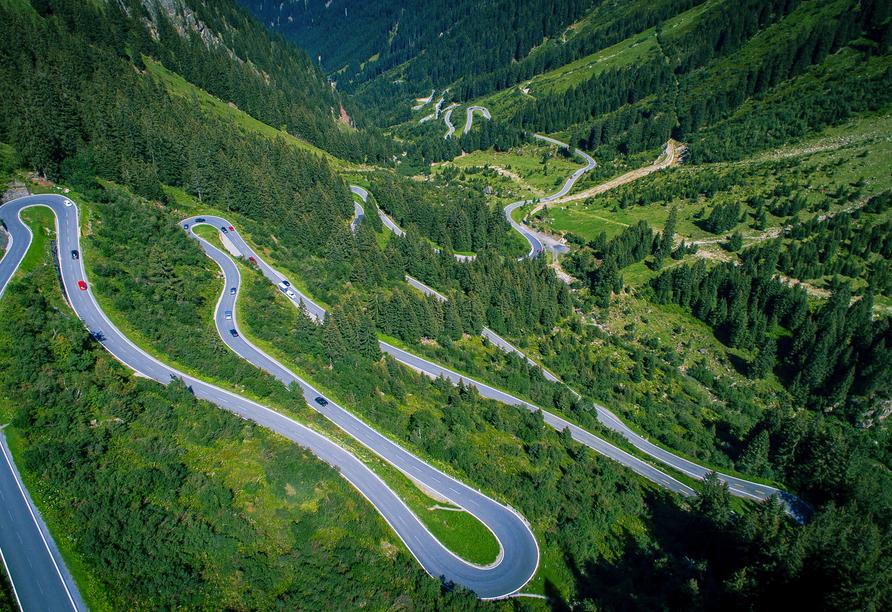 Alpenresort Fluchthorn, Silvretta-Hochalpenstraße