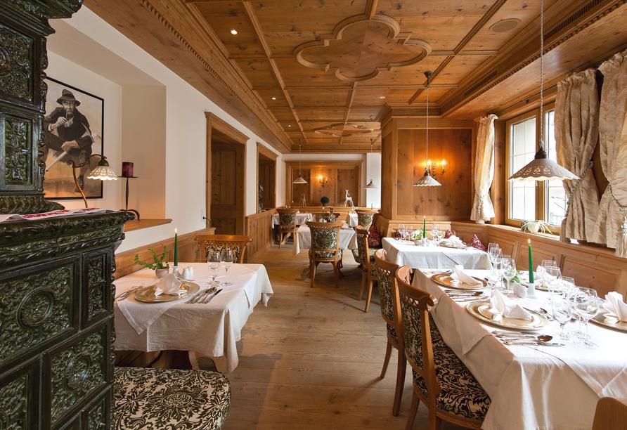 Alpenresort Fluchthorn, Restaurant