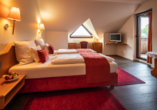 Beispiel eines Doppelzimmers Komfort im Haupthaus des Panorama Hotels Heimbuchenthal