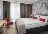 Beispiel eines Doppelzimmers im IntercityHotel Graz