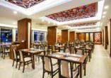 Der Norden Zyperns und seine unberührte Natur, Restaurant im Salamis Bay Conti Hotel