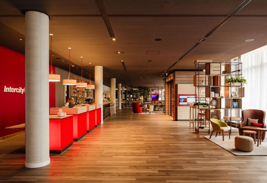 Das IntercityHotel begrüßt Sie in Graz.