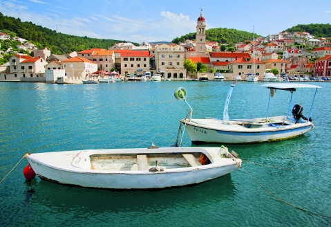 Entdekcen Sie die kleinen Städtchen auf der kleinen Insel Brač.