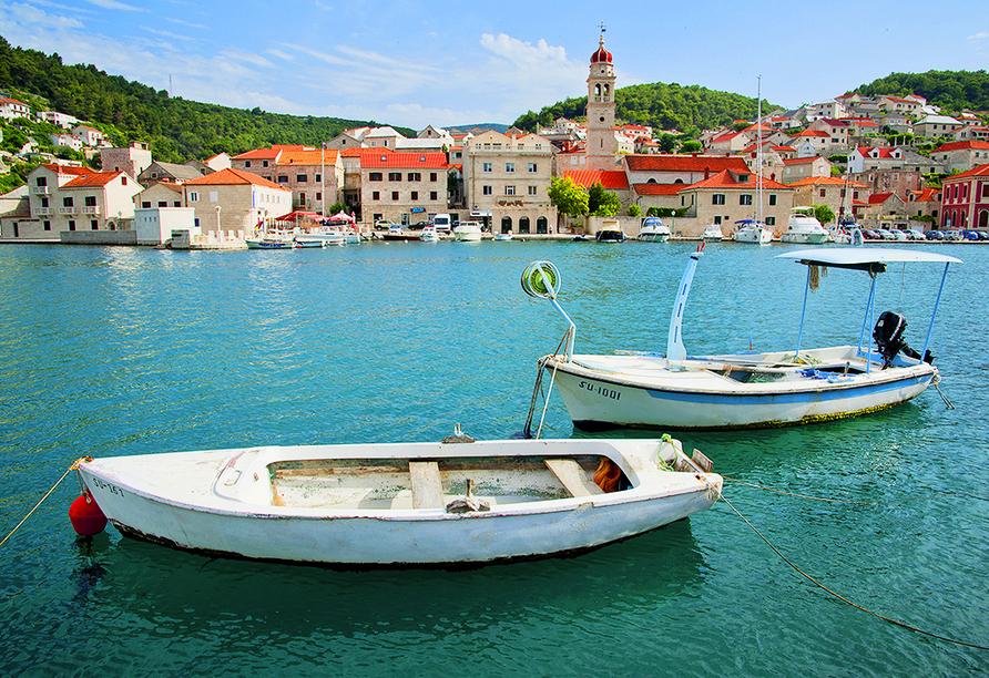 Entdecken Sie die wunderschönen kleinen Städtchen auf der Insel Brač.