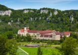 Äußerst sehenswert ist auch das Kloster Beuron im Oberen Donautal.