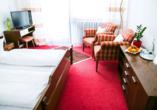 Beispiel eines Doppelzimmers im Schwarzwaldhotel Schönwald