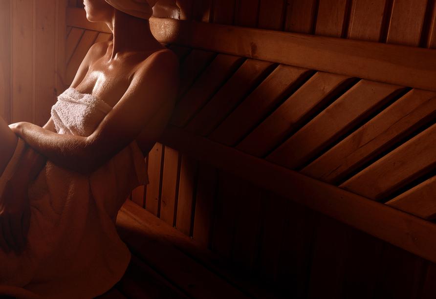 Hotel Alpine Mugon, Italien, Beispielbild Sauna