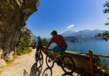 Hotel Alpine Mugon, Italien, Radfahrer