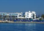 Hotel Limanaki Beach, Außenansicht Hotel