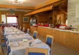 Hotel Alpine Mugon, Italien, Frühstücksraum