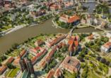 Breslau wird wegen der zahlreichen Brücken auch