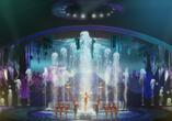ARISE Grand Show im Friedrichstadtpalast Berlin, ARISE Grand Show Wasserspiele