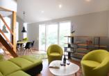 Beispiel eines Wohnbereichs im Ferienhaus
